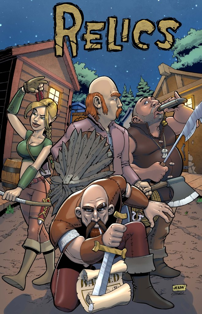 Relics Issue 0 Cover Kickstarter Image